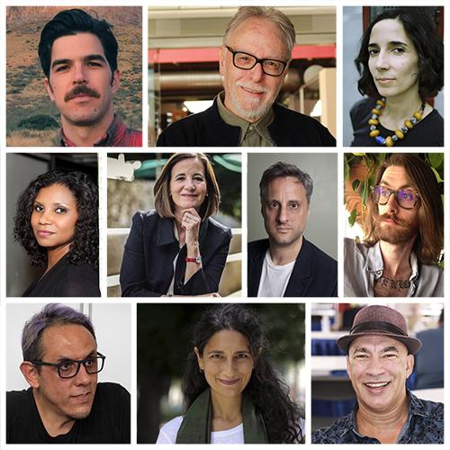 Escritores participantes en el evento.