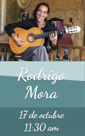 Rodrigo Mora, guitarra flamenca